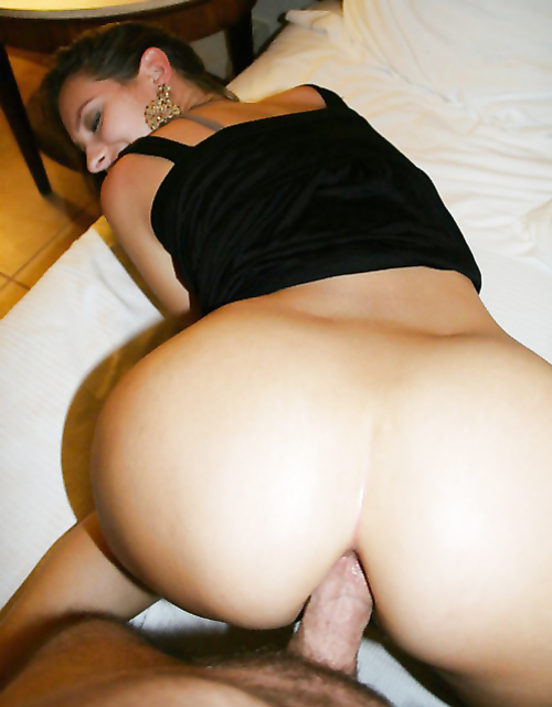 Woman ass big cock