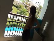 Anal Sex on the Balcony
